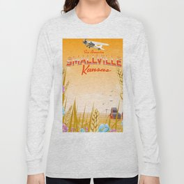 Smallville Kansas Sunset edition Long Sleeve T-shirt