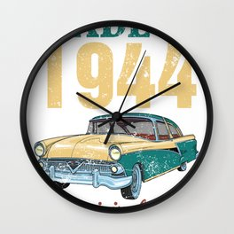 All Original Parts Made In 1944 75th Birthday Gift Wall Clock