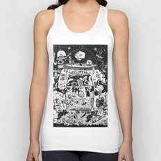 contacto real Unisex Tank Top