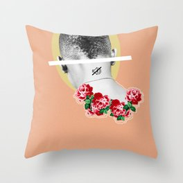 sometimes you just gotta put the world on mute Throw Pillow