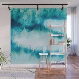 Blue Flow Wall Mural