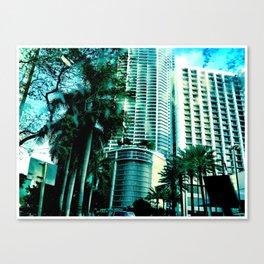 blue city 2 Canvas Print