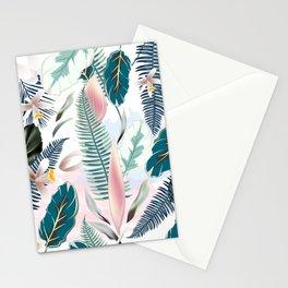 Trendy fashion tropics. Vector illustration print Stationery Cards