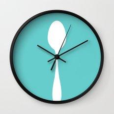 Little Spoon Wall Clock
