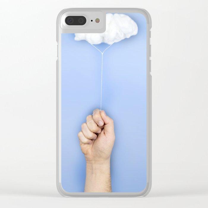 My cloud balloon Clear iPhone Case