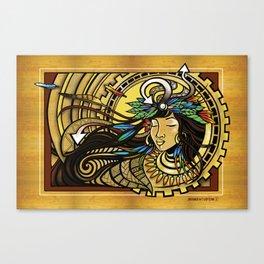 The Wind Gourd of La'amaomao ~ Urban Indigenous Version Canvas Print