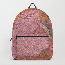 Self-Portrait of a Man in Rose by Cuno Amiet Backpack