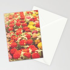 I'd like to lie in a bed of flowers Stationery Cards