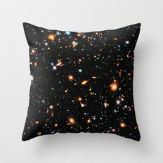Hubble Extreme-Deep Field Throw Pillow