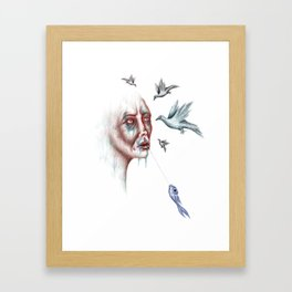 Whisperer Framed Art Print