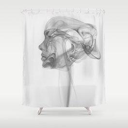 Smokegirl Shower Curtain