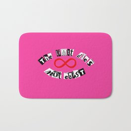 "The Limit Does Not Exist - ""Mean Girls"" Burn Book Inspired Bath Mat"