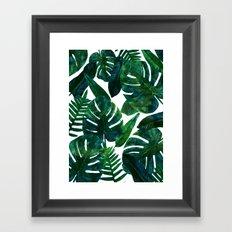 Perceptive Dream    #society6 #tropical #buyart Framed Art Print