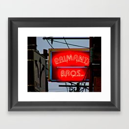 Primanti Brothers Pittsburgh Framed Art Print