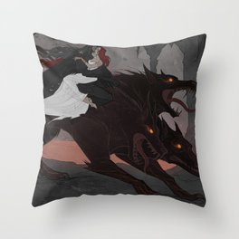 Rulers of the Underworld Throw Pillow
