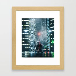 OVER EXPO Framed Art Print
