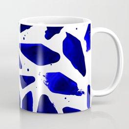 Cobalt Blue Ink Blots Coffee Mug