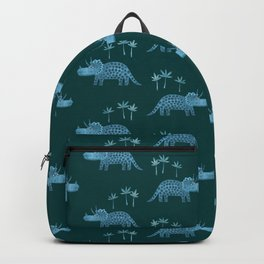 Triceratops Dinosaur Backpack