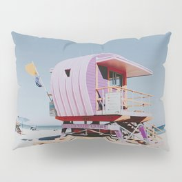 LIFEGUARD STATION / miami beach, florida Pillow Sham