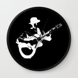 Musician playing Wall Clock