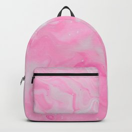 Pink Watercolor Backpack