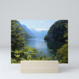 Germany, Malerblick, Koenigssee Lake II Mini Art Print