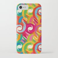 ikat iPhone & iPod Cases featuring Ikat by Helene Michau