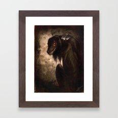 Hellhound Framed Art Print