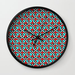 Coeurs croisés de Plaitex Wall Clock