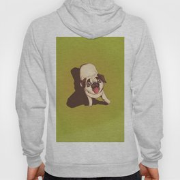 Pug in the Park Hoody