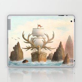 The Antlered Ship_Cover Laptop & iPad Skin