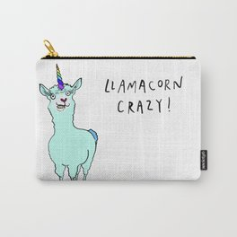Llamacorn Crazy Carry-All Pouch
