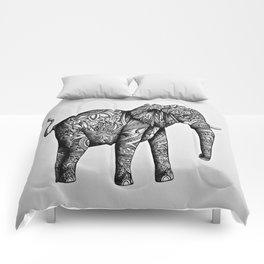 Tribal Elephant Comforters