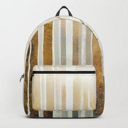 Golden Winter Forest 4 Backpack