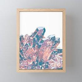 Chocolate Crystal  Framed Mini Art Print