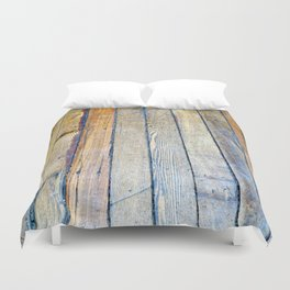 Floorboards Duvet Cover