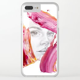 Smear Clear iPhone Case