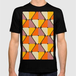 Cube Triangle Mod Yellow T-shirt