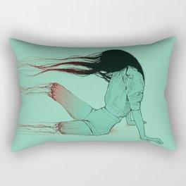 Bye. Rectangular Pillow
