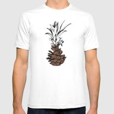 Pineapple Mens Fitted Tee SMALL White