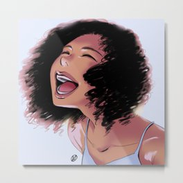 Laugh Metal Print
