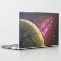 dark side of the moon Laptop & iPad Skins featuring Dark Side of the Moon by Stephanie Janeczek
