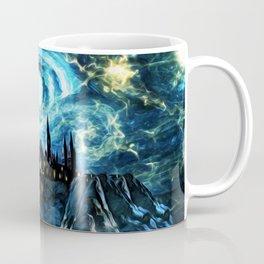 Starry Night Hogwarts Coffee Mug