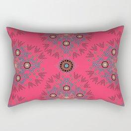 Folksy Mirror Rectangular Pillow