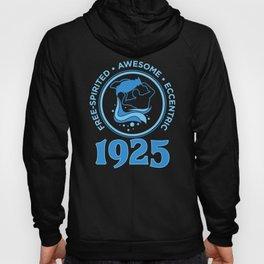 Aquarius 1925 Birthday Gift Hoody