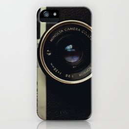 minolta  hi-matic g iPhone Case