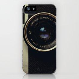 minolta  hi-matic g iPhone Case