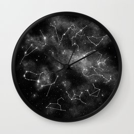 Zodiac Wheel Wall Clock