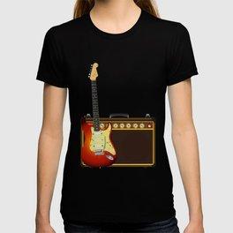 Guitar And Aplifier T-shirt