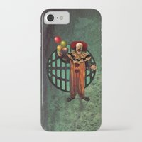 pennywise iPhone & iPod Cases featuring Pennywise by Monsterinbox